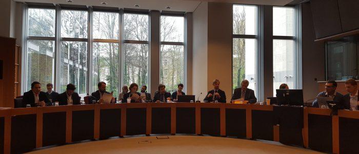MEPs SEC2SV brussels